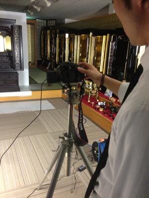 お仏壇の写真撮影