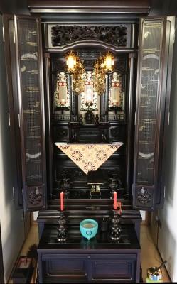 本黒檀の唐木仏壇