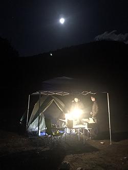正月キャンプ