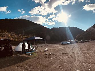 正月キャンプ2